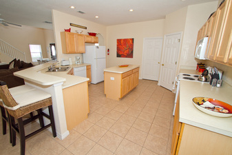 Large Kitchen with all modern conveniences