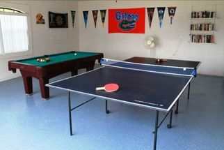 Games Room with Pool Table and Table Tennis